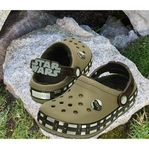 CROCS Star Wars Chewbacca Lined Clogs Toddler Boys